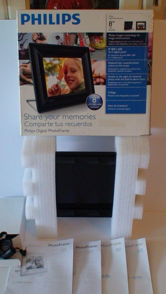 Philips 8ff2fpb 8 Digital Picture Frame Frame Shop