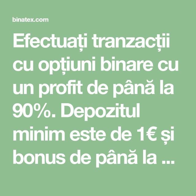 opțiuni binare cu bonus 100 tranzacționare demo cu opțiuni binare