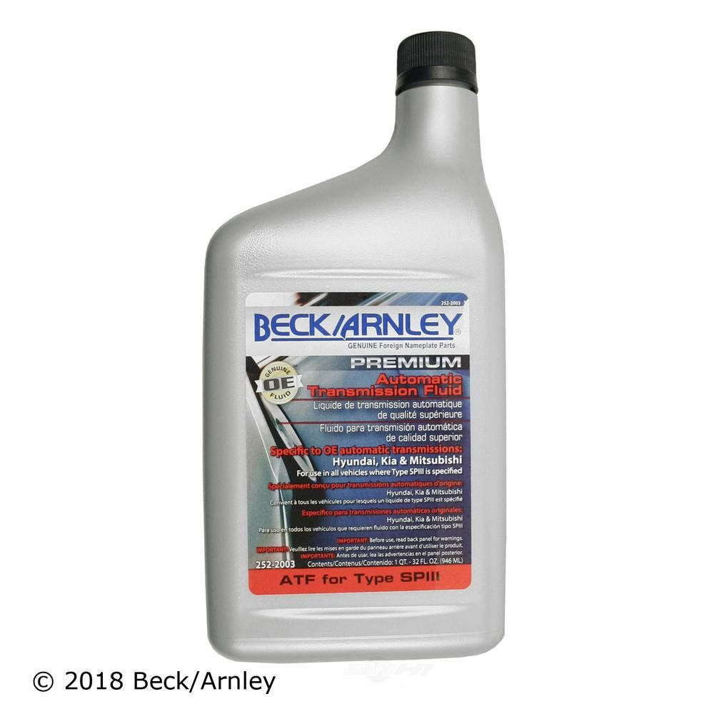 Beck/Arnley Auto Trans Fluid In 2019