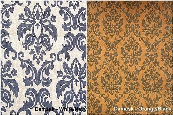 Custom Drapes  Damask Prints 40X84in Curtain Panel by lushlivings, $85.00