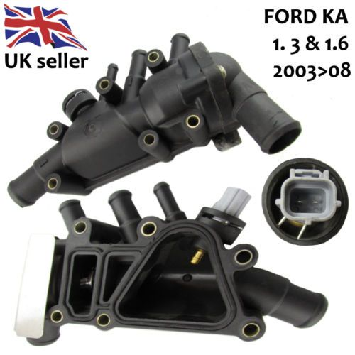 Ford Ka Thermostat Housing    With Sensor Switch Gasket
