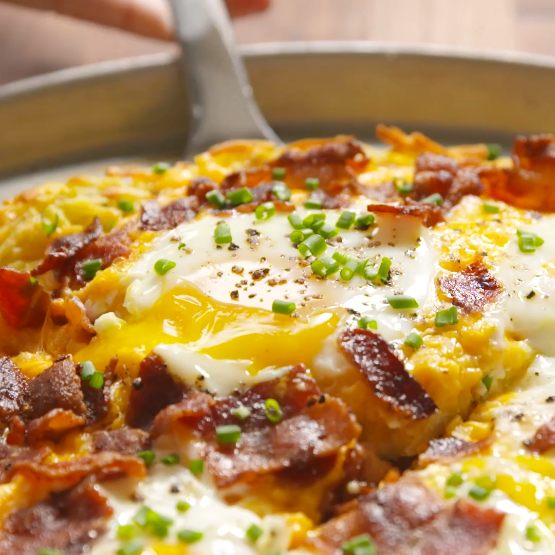 Breakfast Pizza images