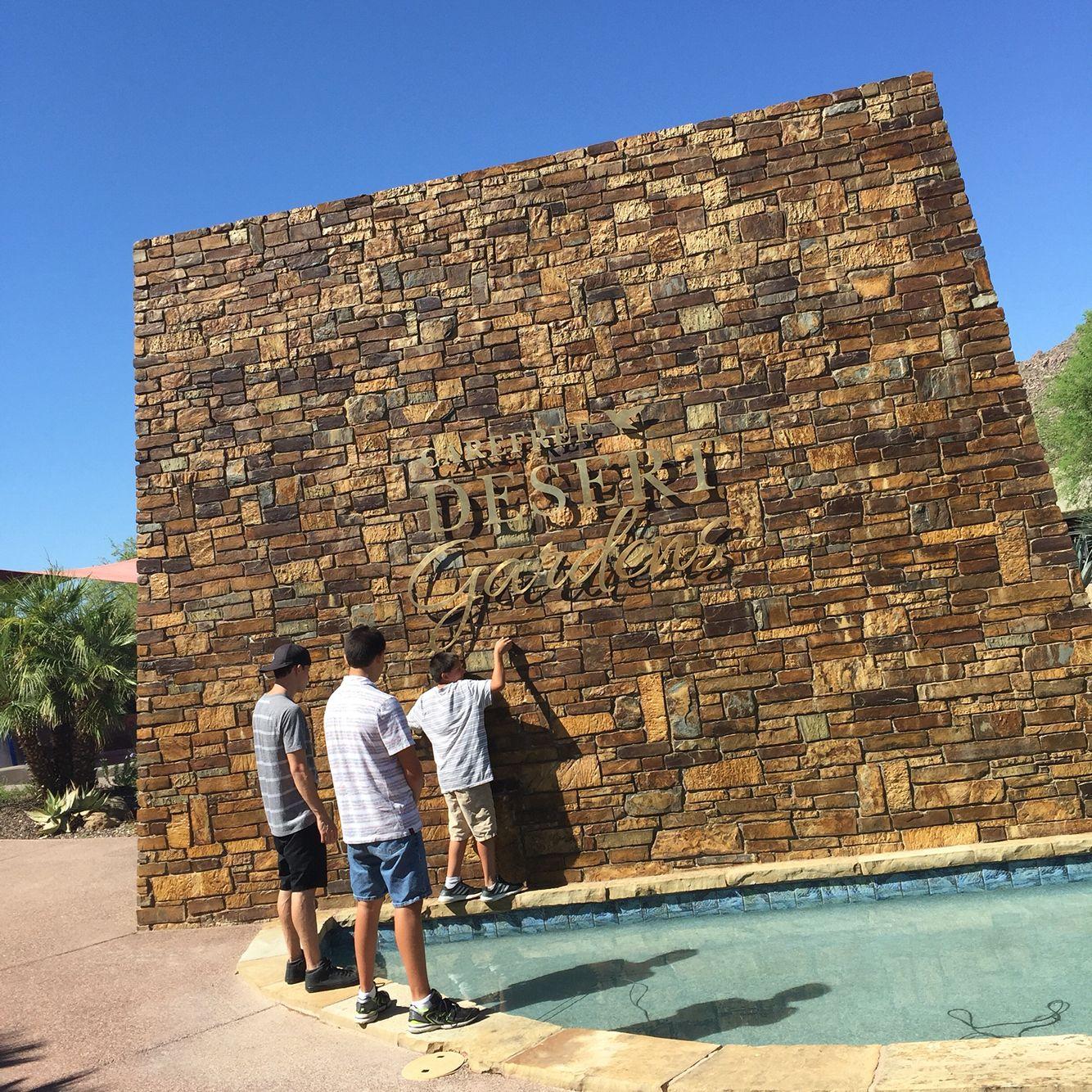 Carefree Desert Botanical Garden- enjoy the shopping area. | Rancho ...