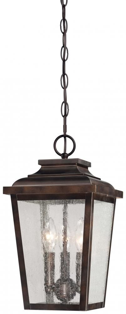 Irvington Manor 3 Light Chain Hung 72174 189 Hansen Lighting 167 Porch Outdoor Pendant Lighting Outdoor Hanging Lights Outdoor Hanging Lanterns