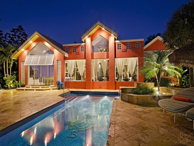 How about this house if you love color!!
