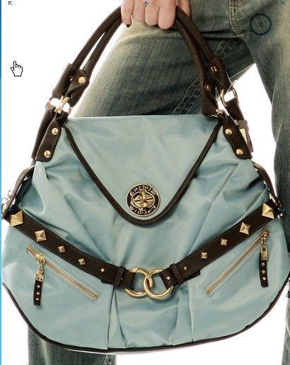 Linda bolsa em azul