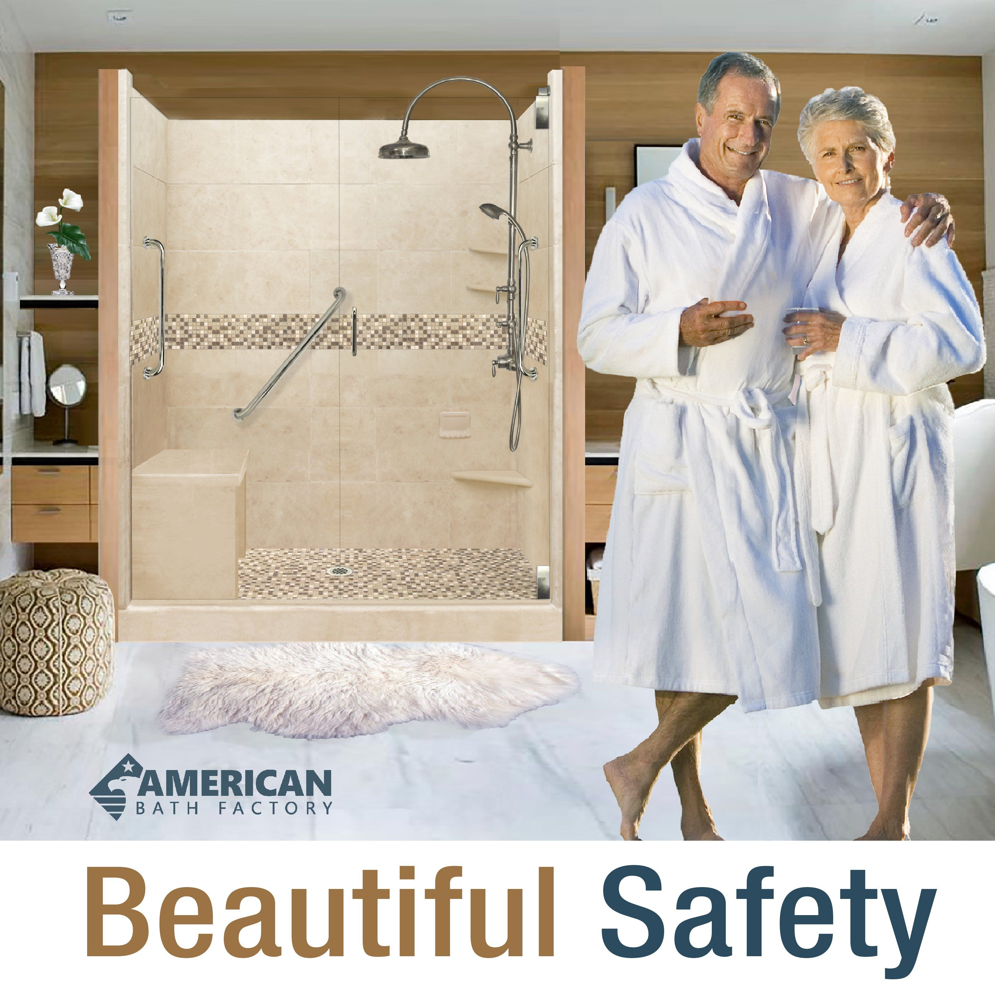 Freedom Showers Freedom Shower Kit Accessible Shower Aging In