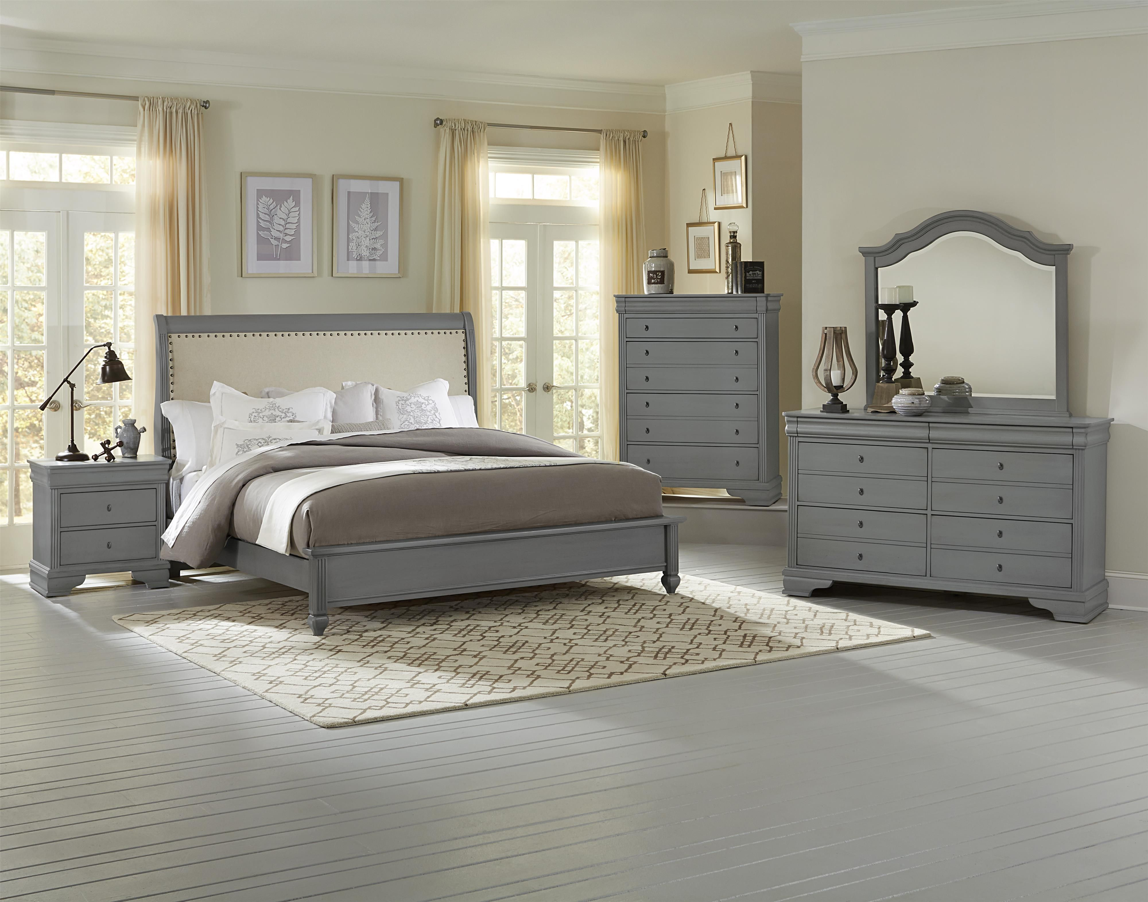 Remarkable French Market Queen Bedroom Group By Vaughan Bassett Interior Design Ideas Tzicisoteloinfo