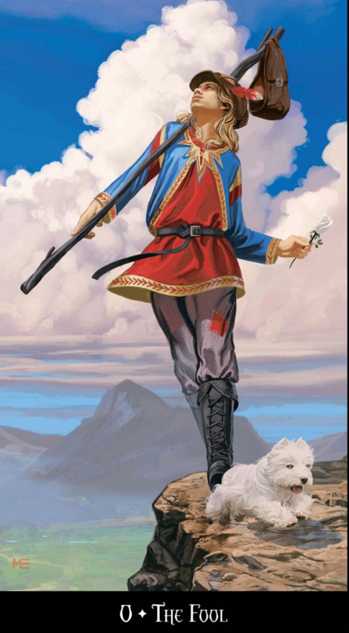 Fool From The Universal Waite Tarot: The Fool Tarot - Google Search