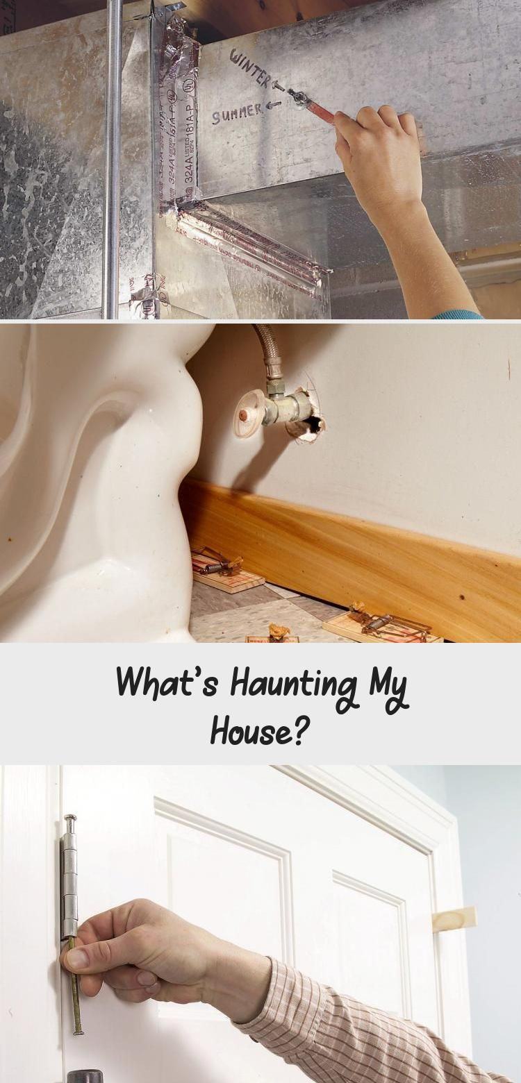 Telltale signs that your house is haunted—by easily fixable problems. #HomeDecorDIYVideosProjects #HomeDecorDIYVideosApartment #HomeDecorDIYVideosCheap #HomeDecorDIYVideosBedroom #HomeDecorDIYVideosOnABudget