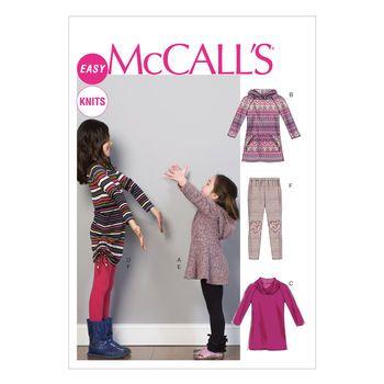 Mccall Pattern M6785 7-8-10-12--Mccall Pattern | Sew cool ...
