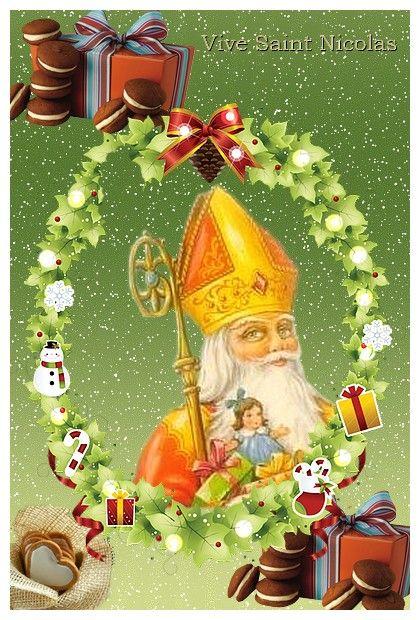 Carte Saint Nicolas A Imprimer Tapis Au Crochet Carterie Et A