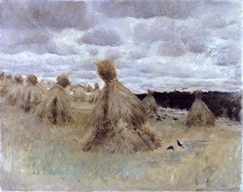 1875- Champ de blé - DE NITTIS