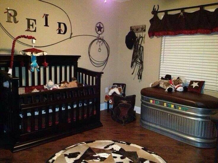 Rodeo Baby Nursery In Love With The Trough Idea To Use As
