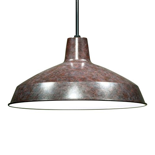 Nuvo Lighting Old Bronze One-Light Dome Pendant With