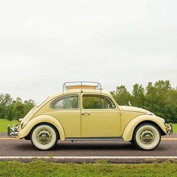 1967 Volkswagen Beetle Classic Beetle 1967 Volkswagen Beetle 1 5 Liter Flat Four Sunroof Metal And Wood Roof Rack Volkswagen Beetle Volkswagen Beetle