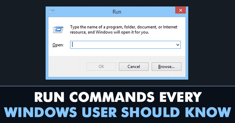25+ Run Commands Every Windows User Should Know | Prosyscom