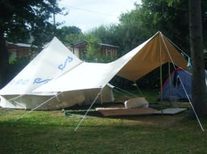 Bell tent with awning; we should so get this!!! | c&ing/survival tricks and gear | Pinterest | Bell tent Tents and C&ing & Bell tent with awning; we should so get this!!! | camping/survival ...