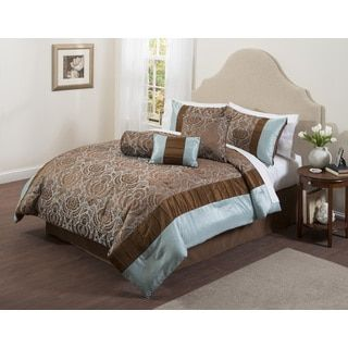 Shop for Casa Boylston 7-piece Comforter Set. Get free ...