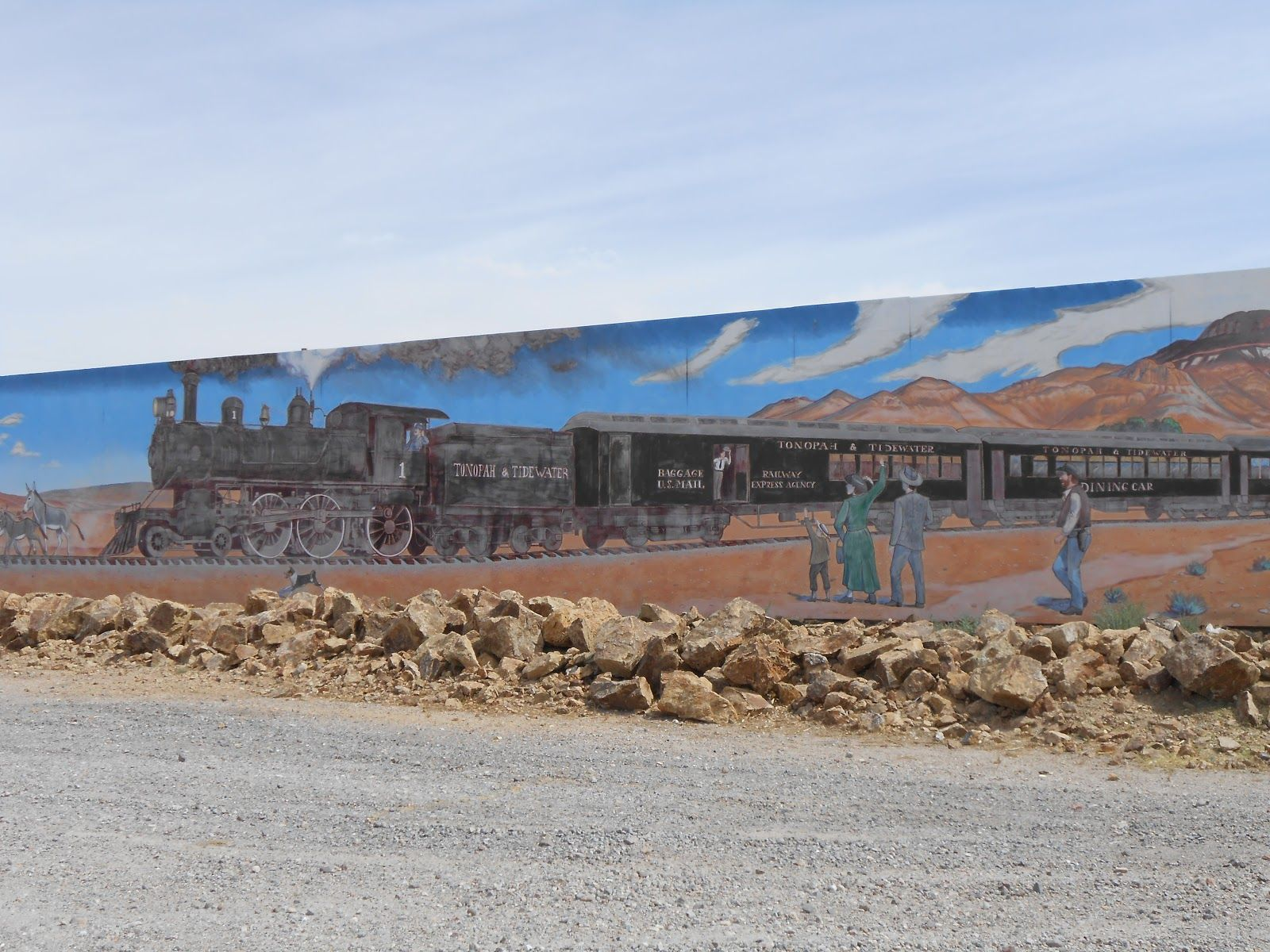 JD's Scenic Southwestern Travel Destination Blog: Historic Beatty Nevada!