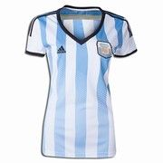 8b6523907b8 2014 World Cup Argentina Women Home Jersey