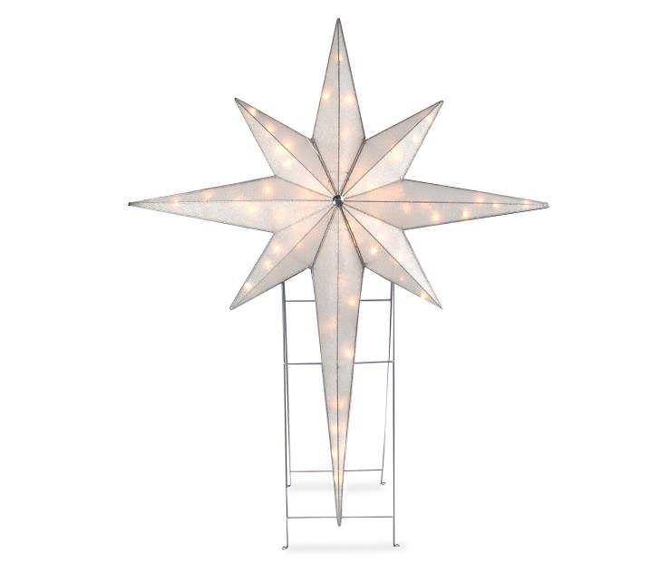 Light up bethlehem star 46 at big lots christmas star large pre lit star of bethlehem indoor outdoor holiday yard art nativity aloadofball Images