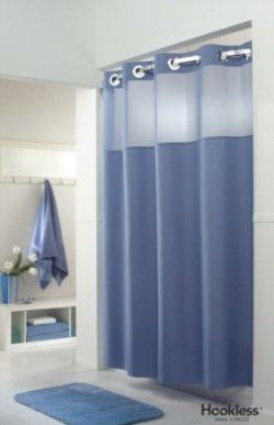 Looking For Hookless Shower Curtain And Liner To Replace Your