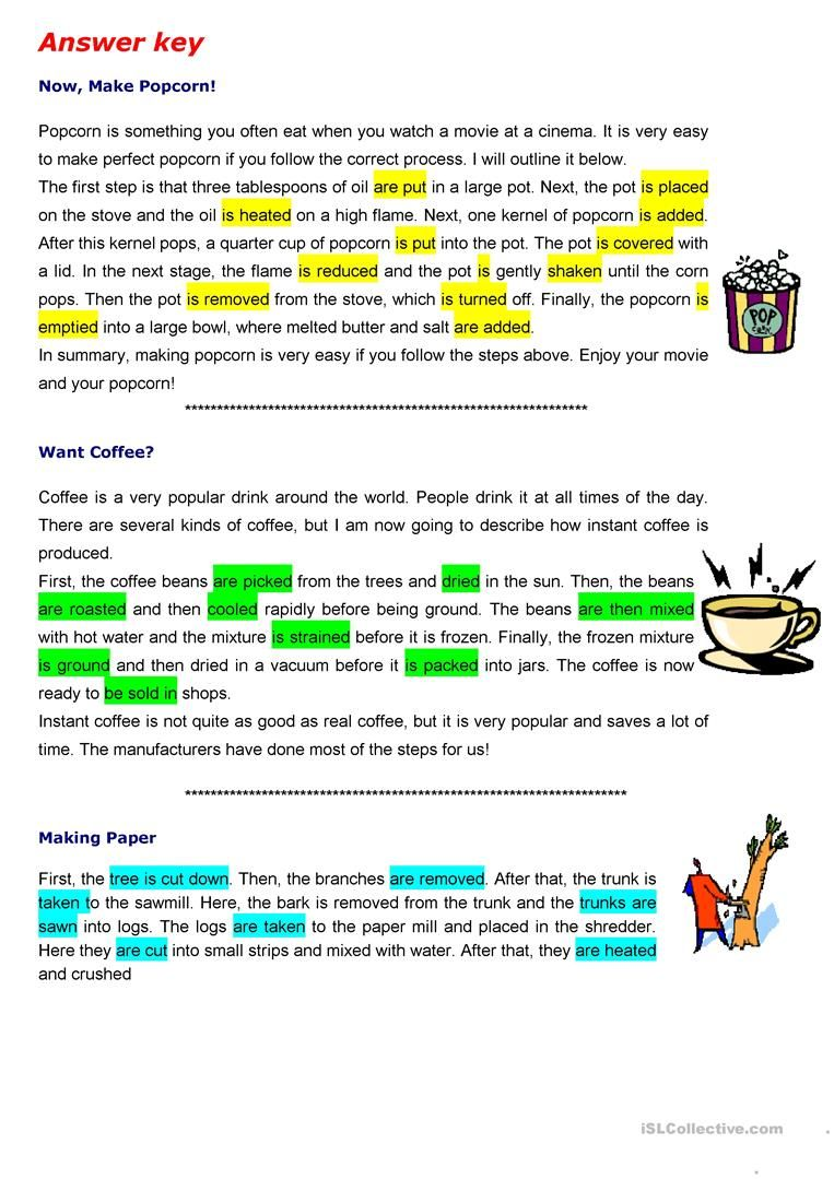 The Passive To Describe Process Worksheet Free Esl Printable Worksheets Made By Teachers Active And Passive Voice Teaching English Grammar Passive [ 1079 x 763 Pixel ]