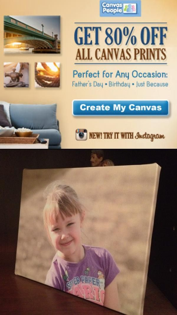 80 Off All Canvas Prints From Canvas People Think Father S
