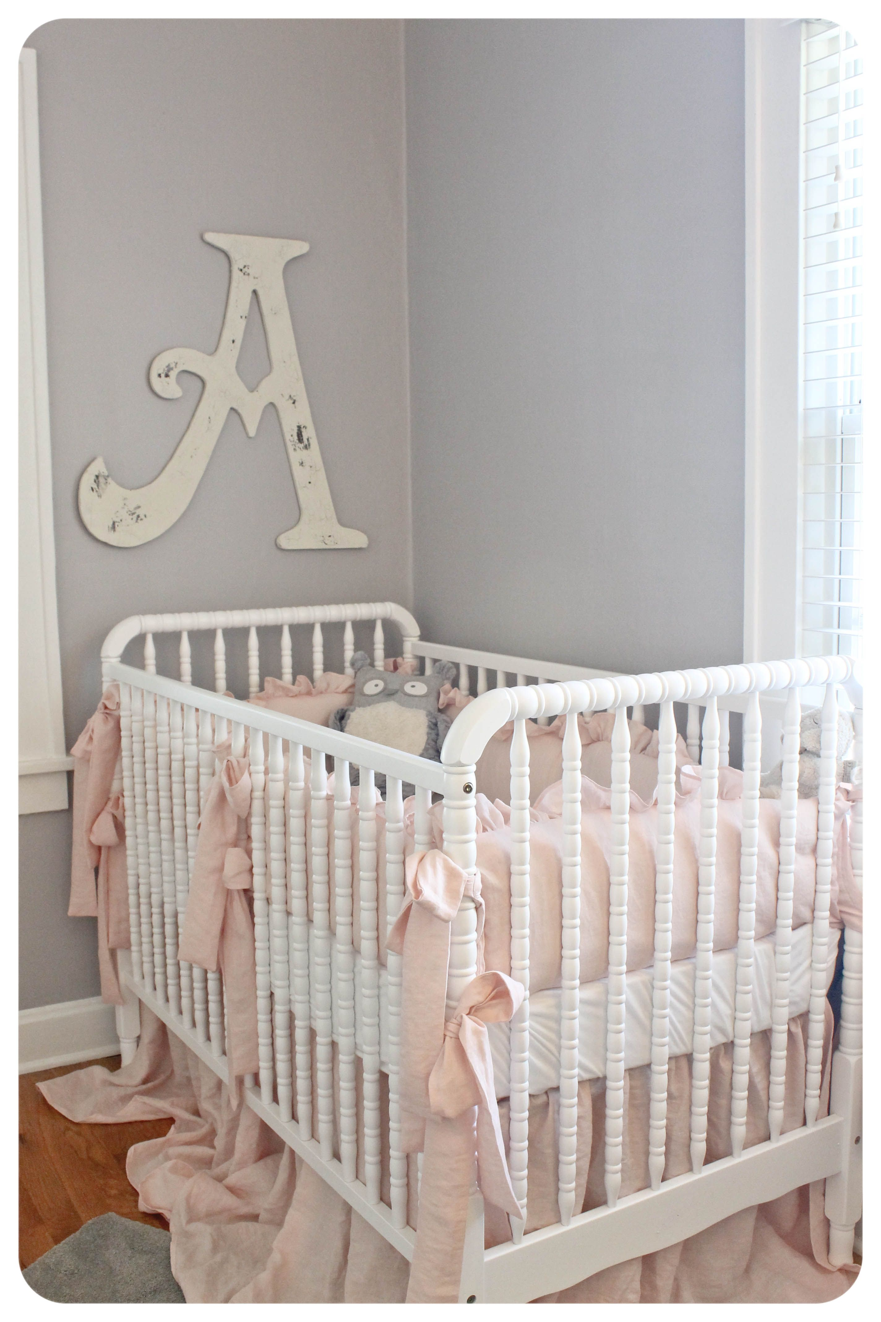 Light Pink And Gray Baby Girl Nursery Paint Color Essential By Sherwin Williams