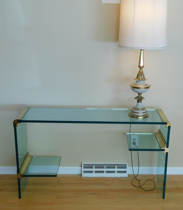 glass table for led tv