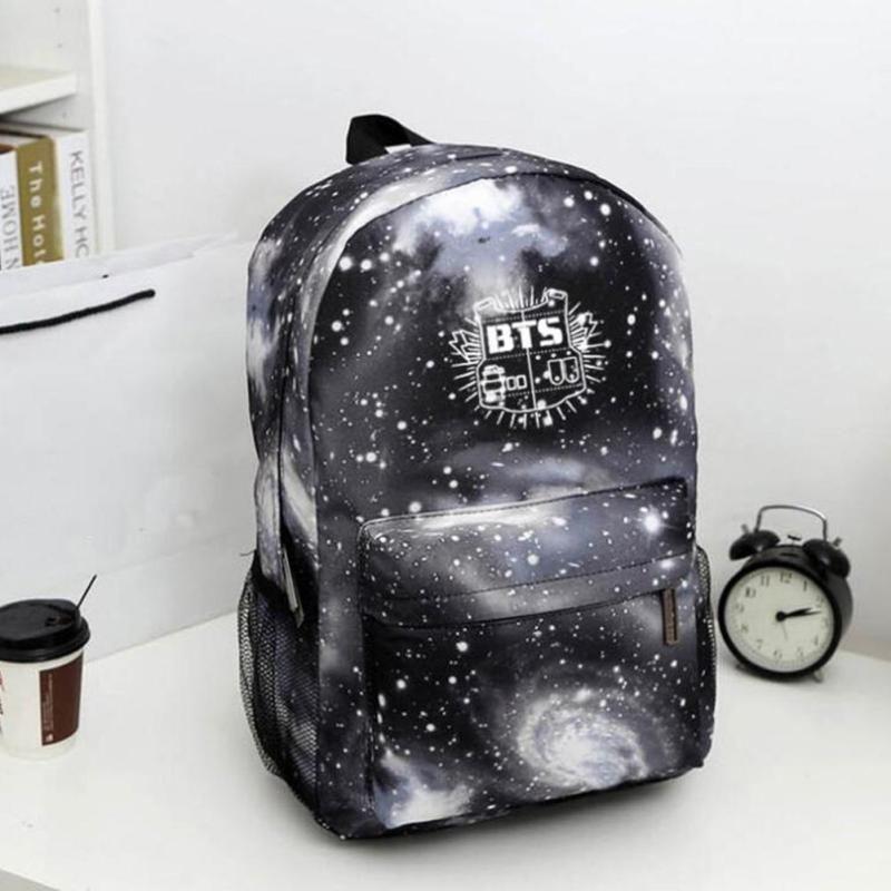 BTS Galaxy Backpack | Mochila do bts, Bolsa do bts, Mochila