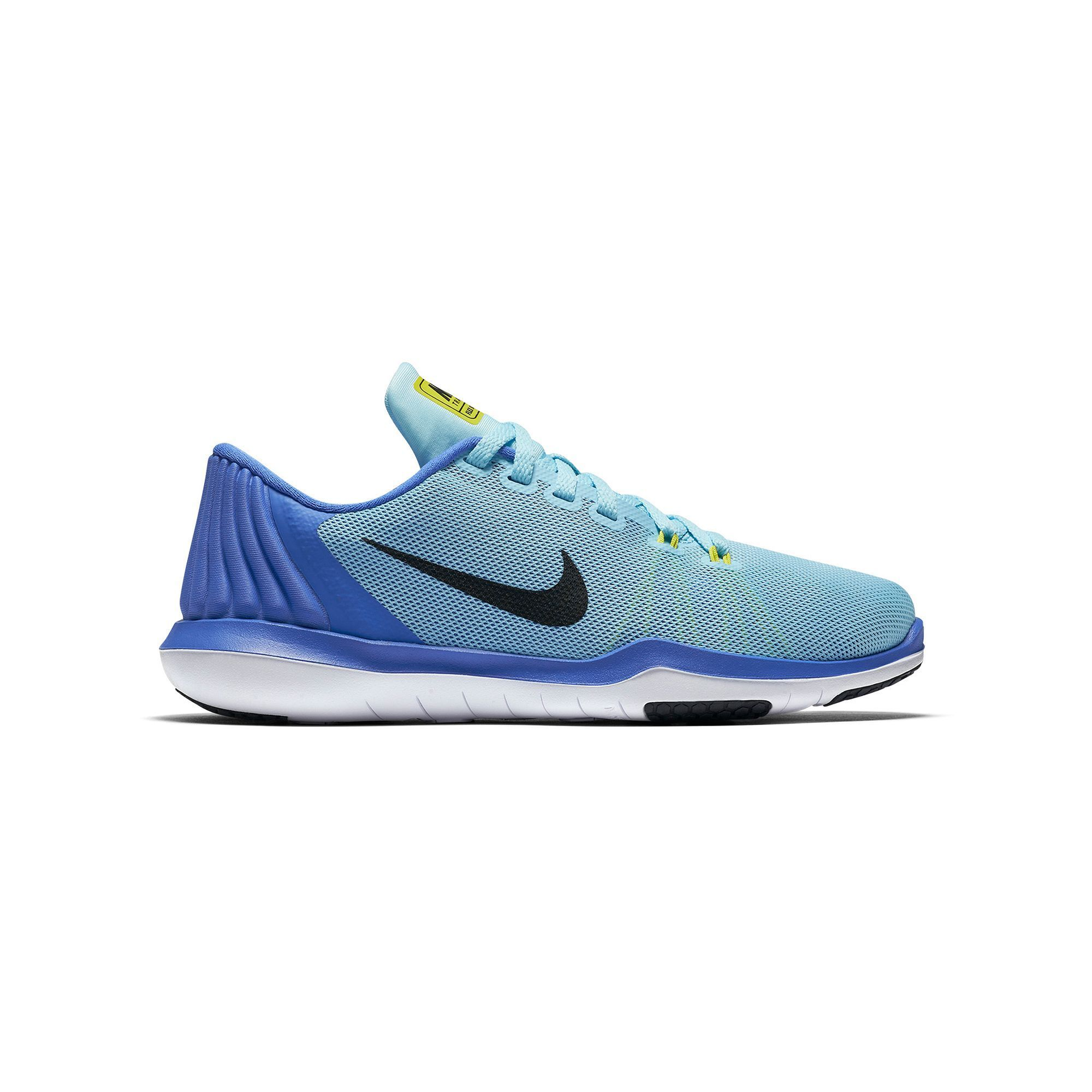 Nike ZOOM FIT TRAINING sz 6.5 BLUE TEAL WHITE Running Shoes Sneakers