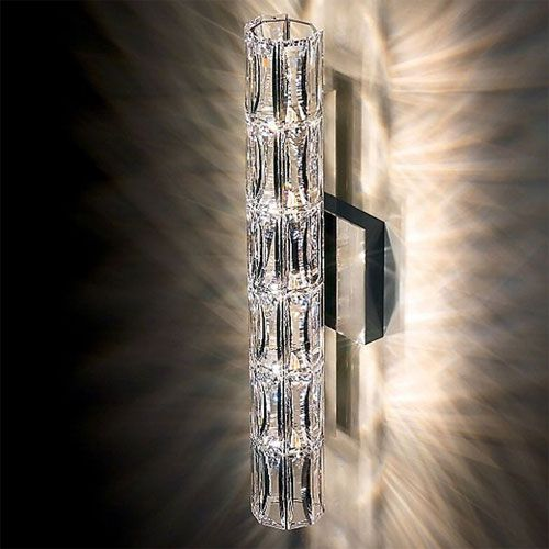 Bathroom Sconces With Bling verve wall sconce | swarovski, sconces and wall sconces