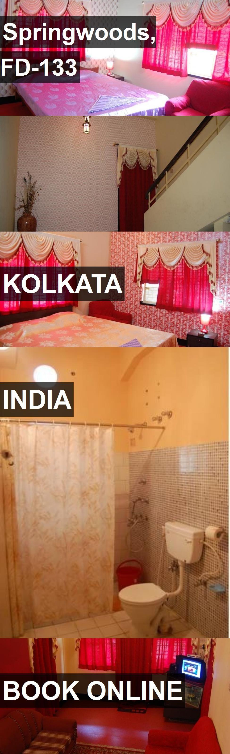 Hotel Springwoods, FD133 in Kolkata, India. For more