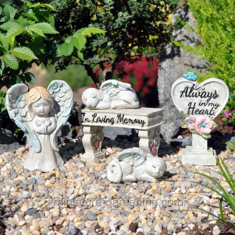 Miniature Gardening   Memorial Garden Box Kit #fairy #garden