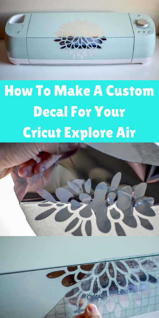 Make Your Own Custom Decal For Your Cricut Explore Air AND - How to make vinyl decals with cricut explore