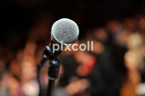 Microphone - #Microphone #mic #background #concert #audio #speech