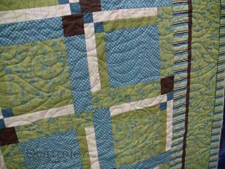 Wedding Quilt, quilted by Angela Huffman