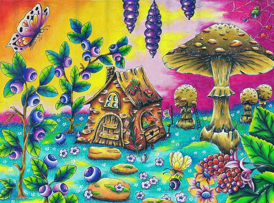 Pin De Mahassine Abdi Em Klara Markova Livro De Colorir Colorir Desenhos Coloridos