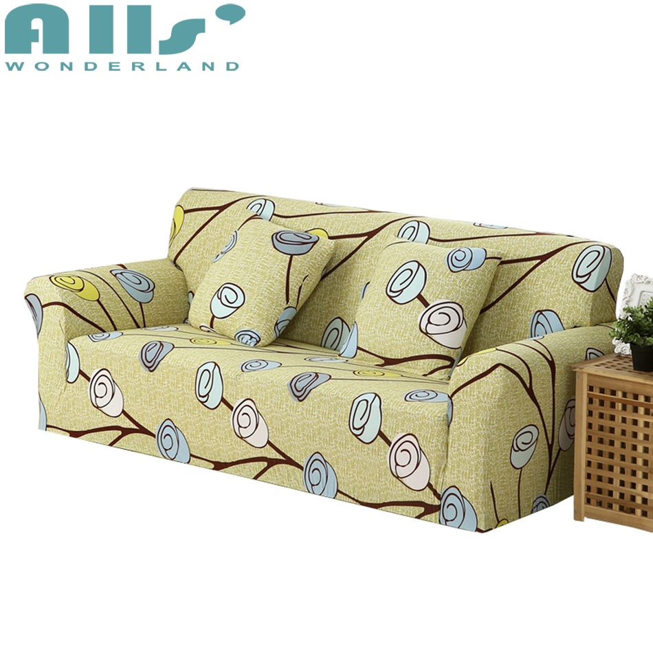 Awesome Yellow Sofa Covers For Living Room Slipcover Polyester Short Links Chair Design For Home Short Linksinfo
