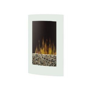 Dimplex Vcx1525wh Electraflame Curved Recessed Wall Mount Electric