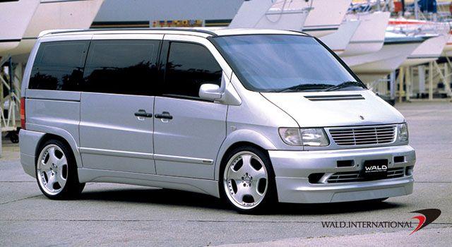 Mercedes Vito W638 Body Kit