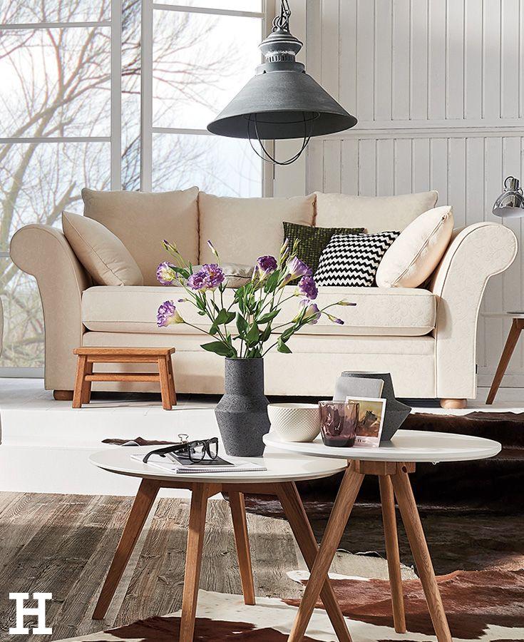 SOHO Landhaus-Sofa Olivia Soho - wohnzimmer couch gemutlich