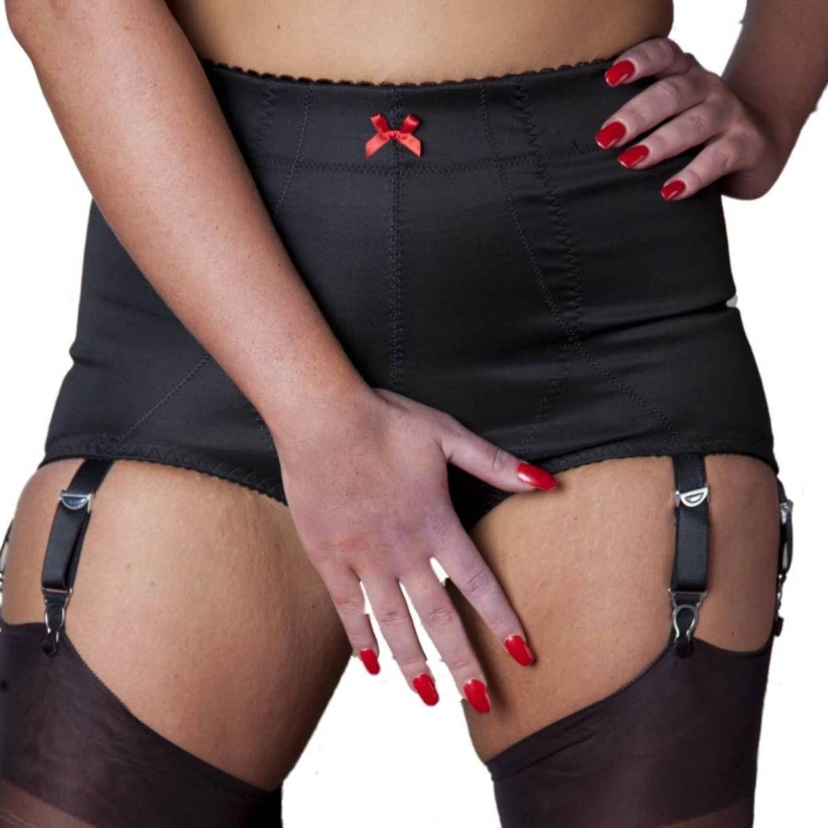 1bb4de7c109 Premier Lingerie 6 Strap Crotchless Shapewear Girdle With Garters (Ndcg6Usa)