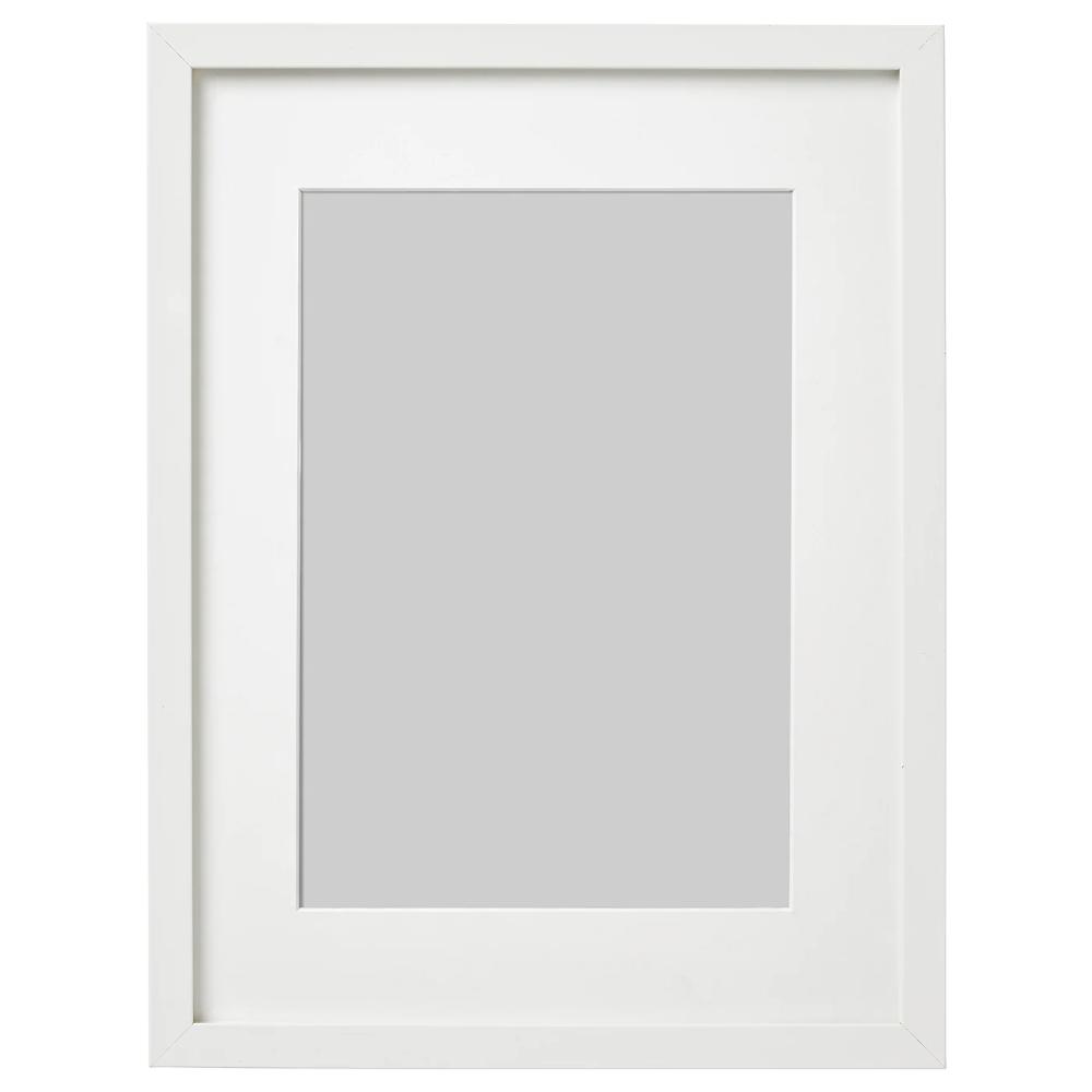 Ribba White Frame 30x40 Cm Ikea Ribba Frame Ikea Ribba Frames Mosslanda Picture Ledge