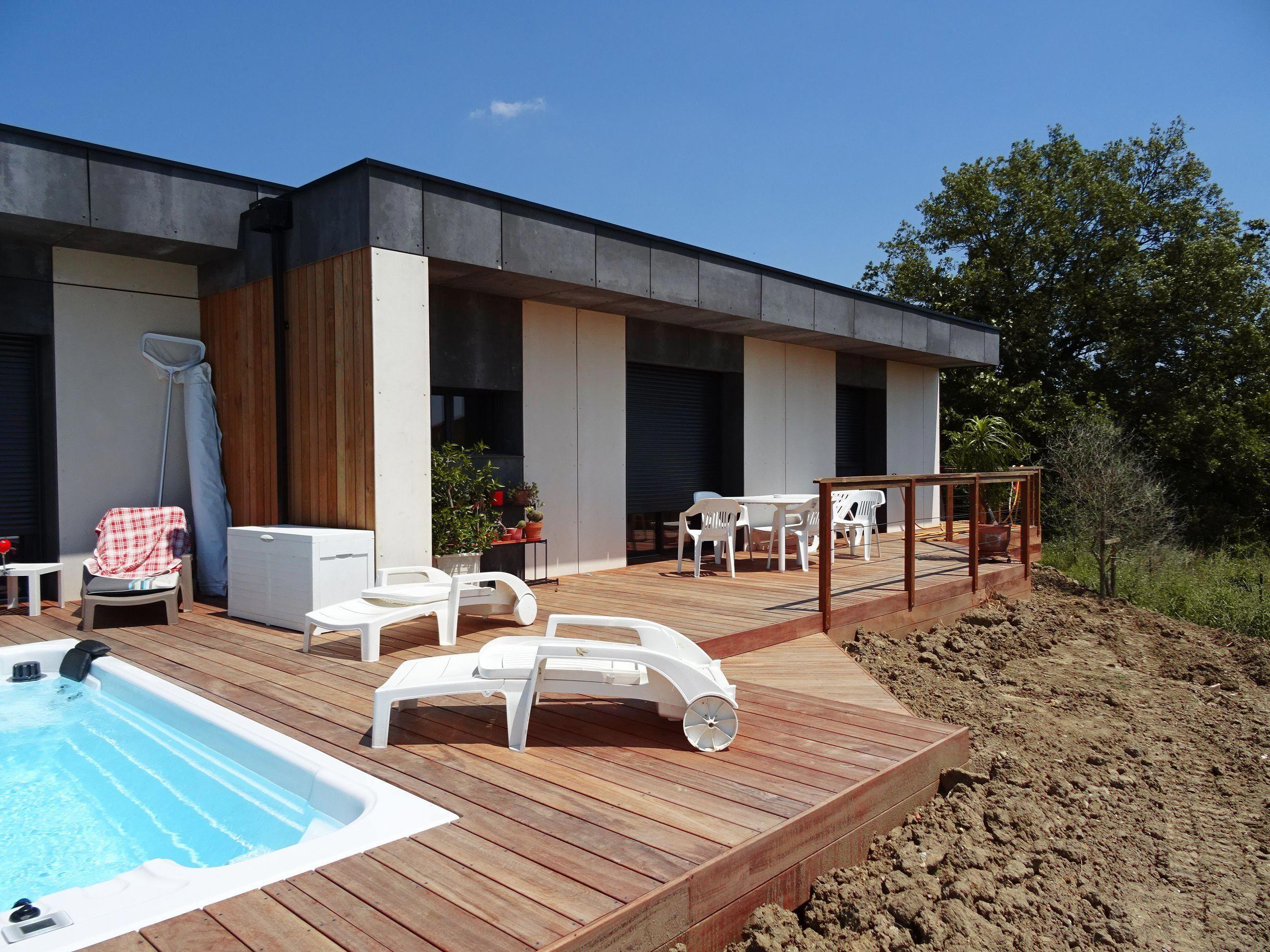 Construction Maison Bois Design