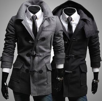 b9451714506 Men s Coat with Removable Hood  coats  menstyle