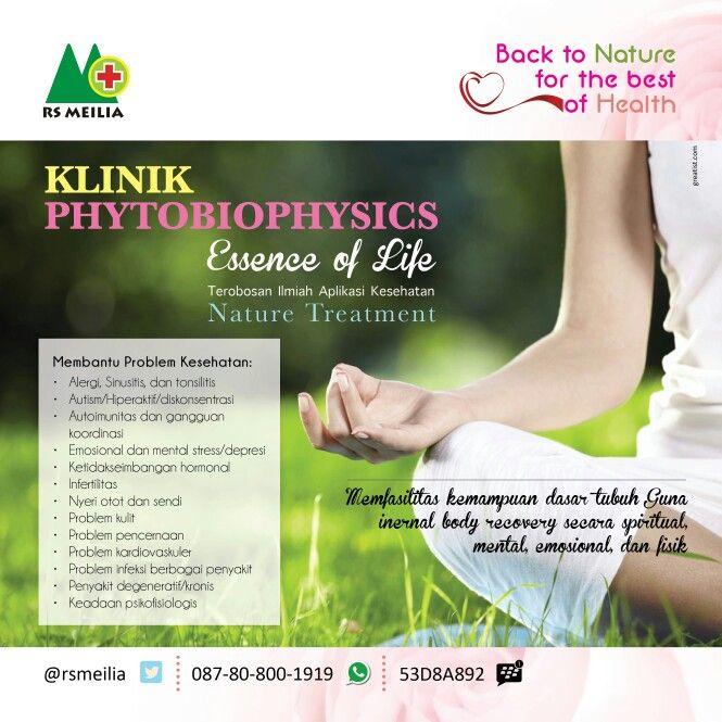 Sehat Natural Sehat Kesehatan Sakit Penyakit Phytobio Rumahsakit Rsmeilia Cibubur Depok Jakarta Layanan Rawatan Alam Nyeri Otot Penyakit Kesehatan