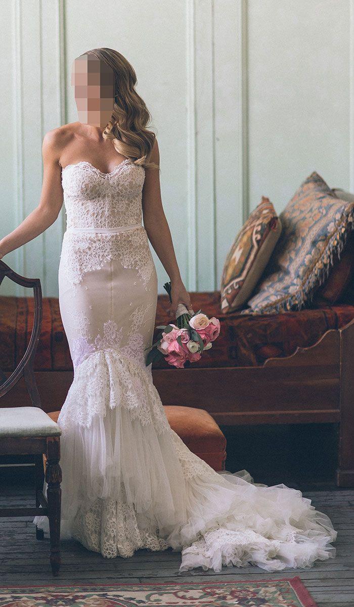 Inbal Dror VIP Wedding Dress   Used, Size 20, $20,7520   Dresses ...